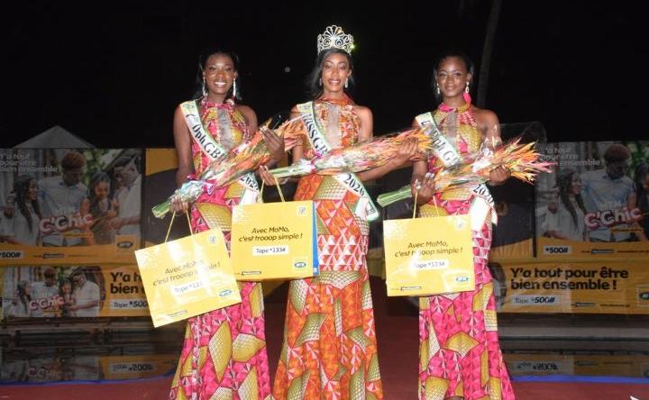 Miss Côte d'Ivoire 2020 : Ouattara Syntyche remporte la présélection régionale de Bouaké
