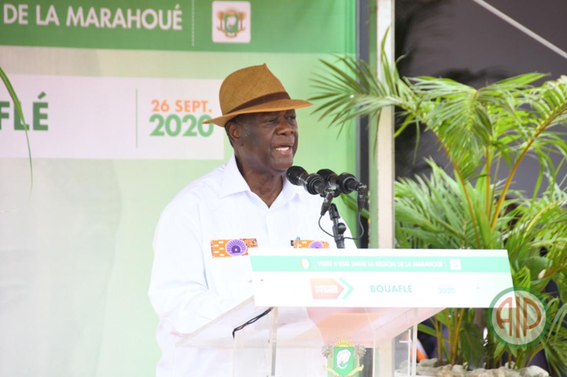 """Ouattara à l'opposition: """"Il n'y aura pas de report d'élection ni de transition"""""""