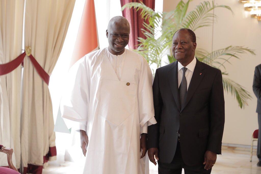 Alassane Ouattara a reçu les lettres de créances de 5 ambassadeurs