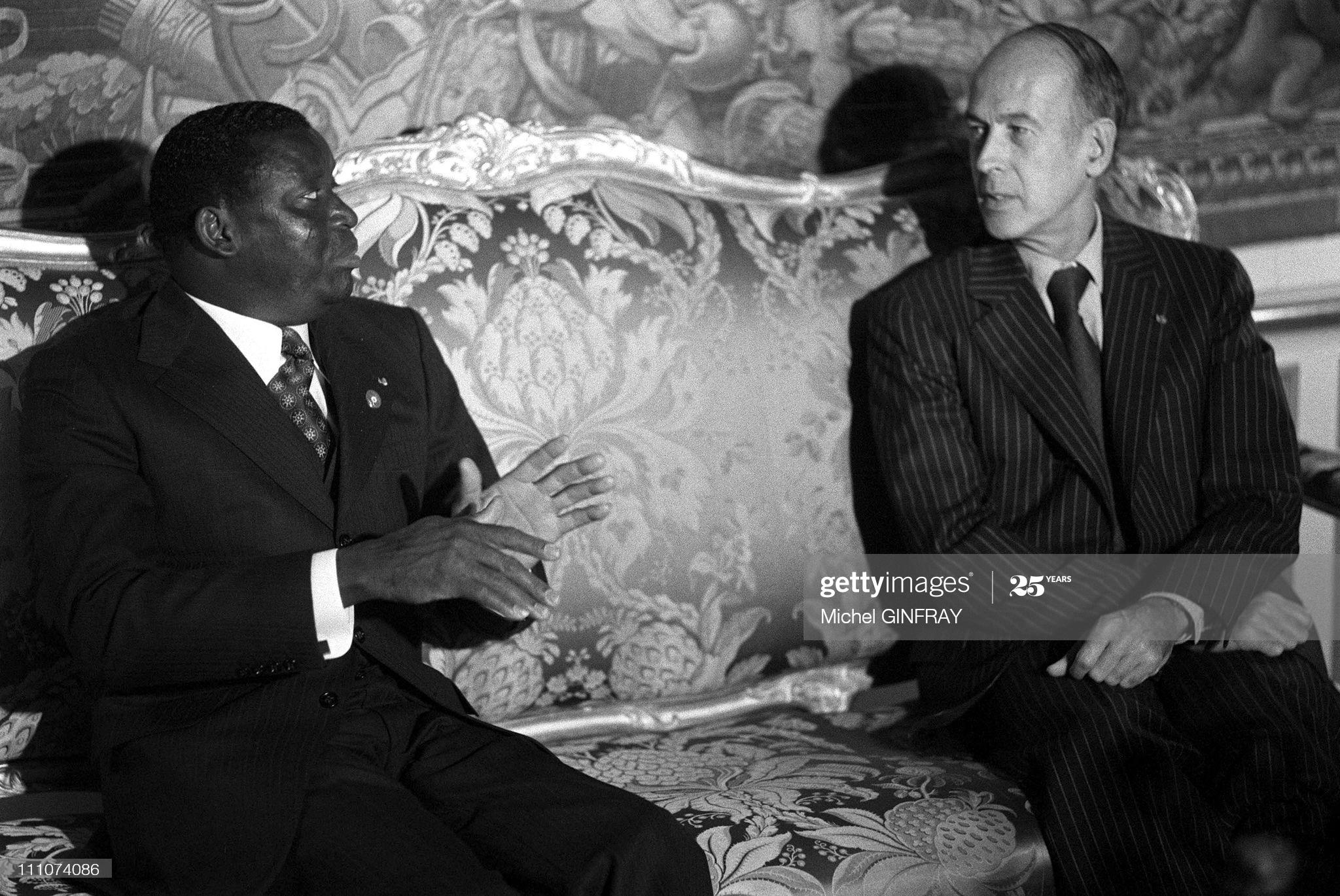 Giscard d' Estaing, l'ami des dictateurs africains est mort