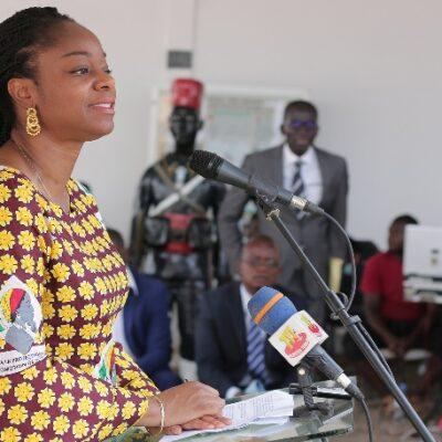 Togo : ces choses que vous ignorez chez  Cina Lawson.