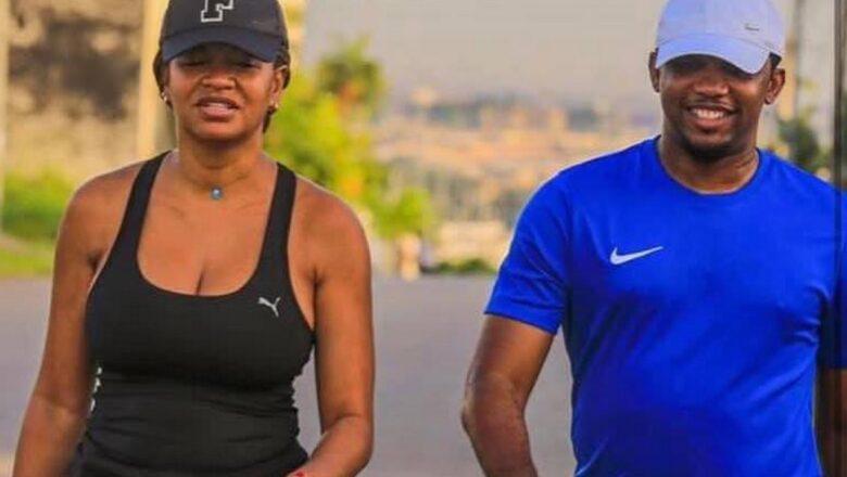 Ces images d'Eto'o et sa femme dans les rues d'Abidjan affolent la toile