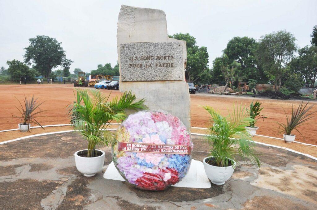 Place des martyrs du Togo