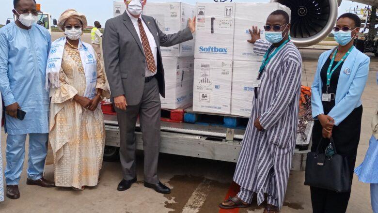 Le Togo réceptionne 188.370 doses de vaccins Pfizer offertes par les USA
